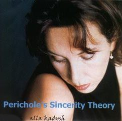 Alla Kadysh Perichole's Sincerity Theory CD Cover