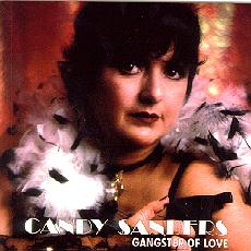 Candy Sanders Gangster Of Love CD Cover