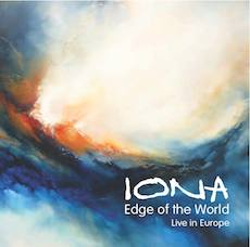 Iona - Edge of the World: Live in Europe - CD Cover