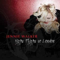 Jennie Walker - Night Flight To London - CD Cover