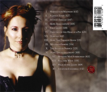 Marked For Madness Back Cover